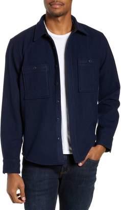 Nordstrom Regular Fit Wool Blend Shirt Jacket
