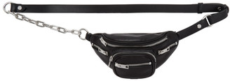 Alexander Wang Black Mini Attica Fanny Pack