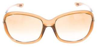 Tom Ford Gradient Round Sunglasses