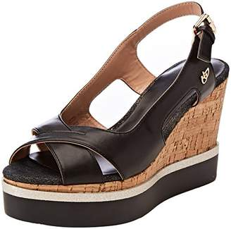 Byblos Women's Platform Daily Sling Back Sandals