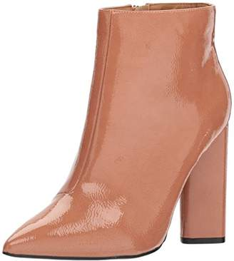 Qupid Women's Pointy Toe Bootie Ankle Boot