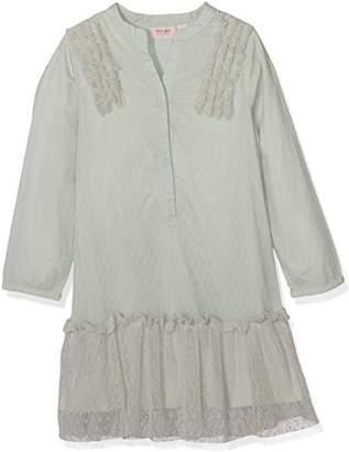 Mini A Ture Noa Noa Miniature Girl's Mini Basic Tulle Dobby Dress,(Manufacturer Size: 3 Years)