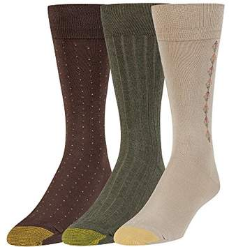 Gold Toe Men's Dress Crew Socks