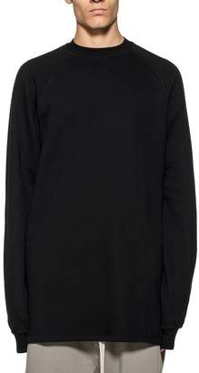 Drkshdw Black Baseball Long Sweatshirt
