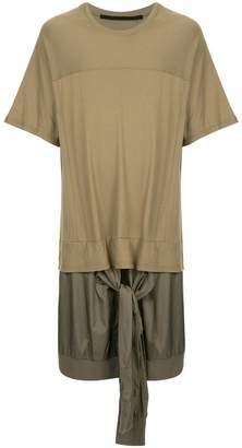Julius layered oversized T-shirt
