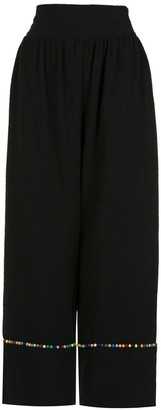 Olympiah Inca pompom pantacourt trousers