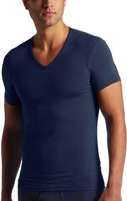 Calvin Klein Men's Micro Modal Short Sleeve V-Neck