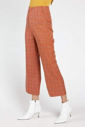 Honey Punch **Amber Plaid Pants