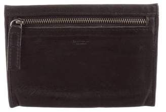 Shinola Leather Zip Pouch Wallet