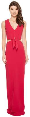 Nicole Miller Grayson Structured Heavy Jersey Gown Women's Dress