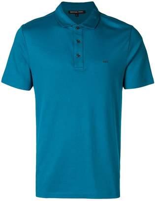 Michael Kors logo-embroidered polo shirt