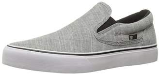 DC Men's Trase Slip-on tx se Skateboarding Shoe