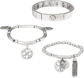 C. Wonder Set of 3 Stretch Charm Bracelets