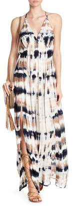 Young Fabulous & Broke Plane Patterned Maxi Dress