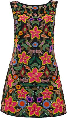 Khosla Jani Beaded Mini Dress