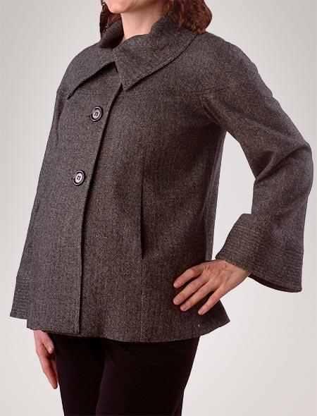 Tweed Swing Jacket