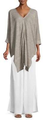 Eileen Fisher V-Neck Linen Tunic