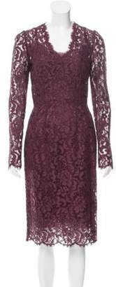 Dolce & Gabbana Guipure Lace Sheath Dress w/ Tags Guipure Lace Sheath Dress w/ Tags