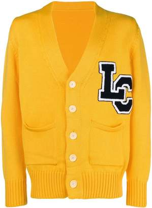 Lc23 logo embroidered cardigan