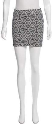 Bailey 44 Patterned Mini Skirt w/ Tags