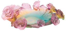 Daum Rose Passion Bowl