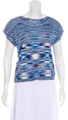 Missoni Short Sleeve Knit Top