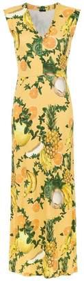 OSKLEN printed long dress