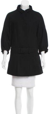 pradaPrada Virgin Wool Belted Coat