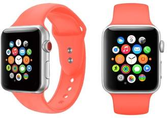 Giant Audio Silicone Sport Replacement Watch Band for 38mm Apple Watch Series 1-3 (16-Colors)