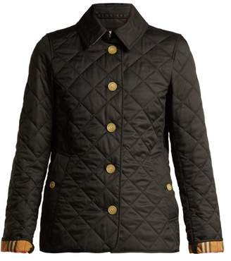Burberry - Diamond Quilted Jacket - Womens - Black