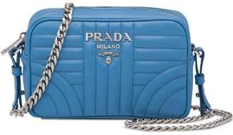 Prada Diagramme leather cross-body bag