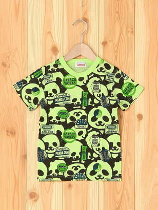 GARACH (ギャラッチ) - GARACH GARACH/パンダ総柄半そでTシャツ チャイルドチャーム カットソー