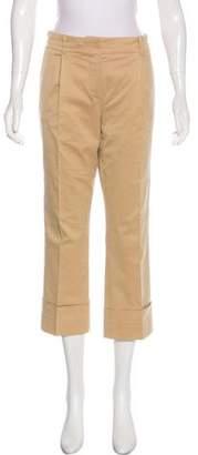 Louis Vuitton Mid-Rise Wide-Leg Pants