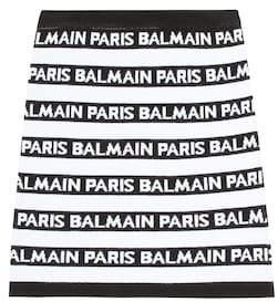 Balmain Kids Jersey skirt