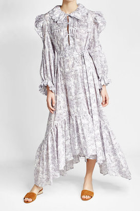 Horror Vacui Printed Cotton Dress $729 thestylecure.com