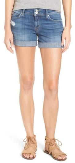 'Croxley' Cuffed Denim Shorts