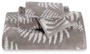 Fern Jacquard Hand Towel in Pebble