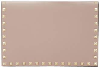 Valentino Pink Garavani Rockstud Wallet Pouch