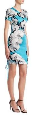 Roberto Cavalli Floral Tee Shift Dress