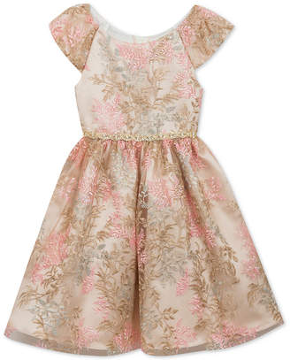 Rare Editions Toddler Girls Embroidered Dress