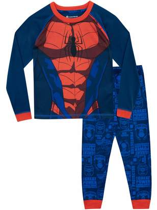 Marvel Spiderman Boys' Spider-Man Pajamas