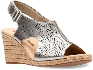 Clarks Lafley Rosen Women's ... Ortholite Wedge Heels