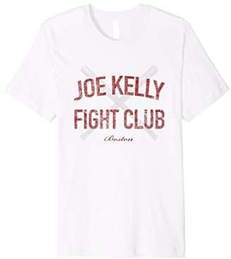 Red Tee Premium Joe Kelly Fight Distressed Shirt for Boston