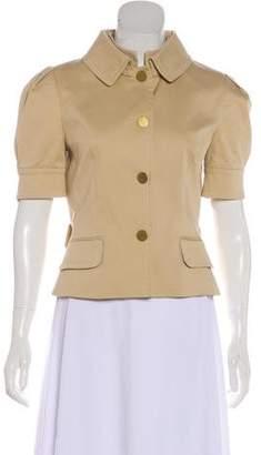 Dolce & Gabbana Collared Short Sleeve Jacket