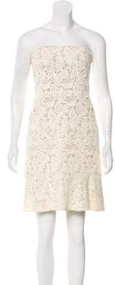 Giambattista Valli Lace Strapless Dress