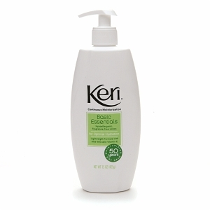Keri Basic Essentials Hypoallergenic Lotion, Fragrance Free