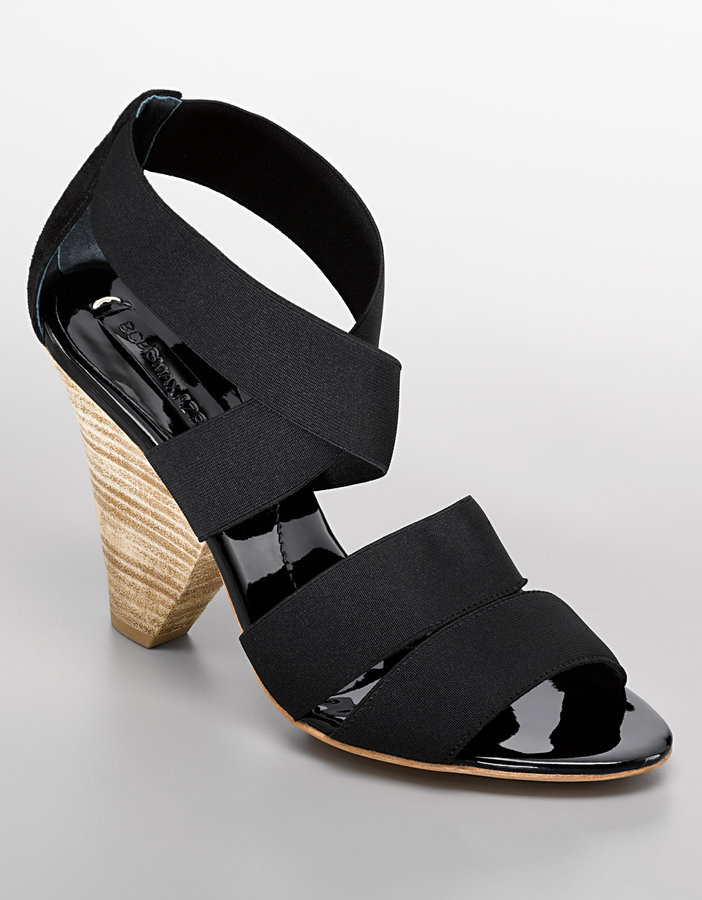 Bcbgmaxazria Cais Stretch-Strap Sandals