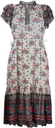 Ulla Johnson floral flared dress
