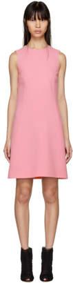 Dolce & Gabbana Pink A-Line Buttons Dress