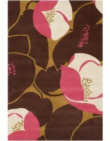 Amy Butler Field Poppy Rug - Pink